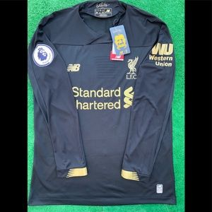 19/20 Liverpool goalkeeper soccer jersey LS LFC